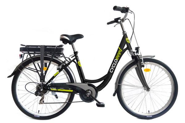test Cyclovert Cyclocity Vélo électrique 36V-8,8Ah